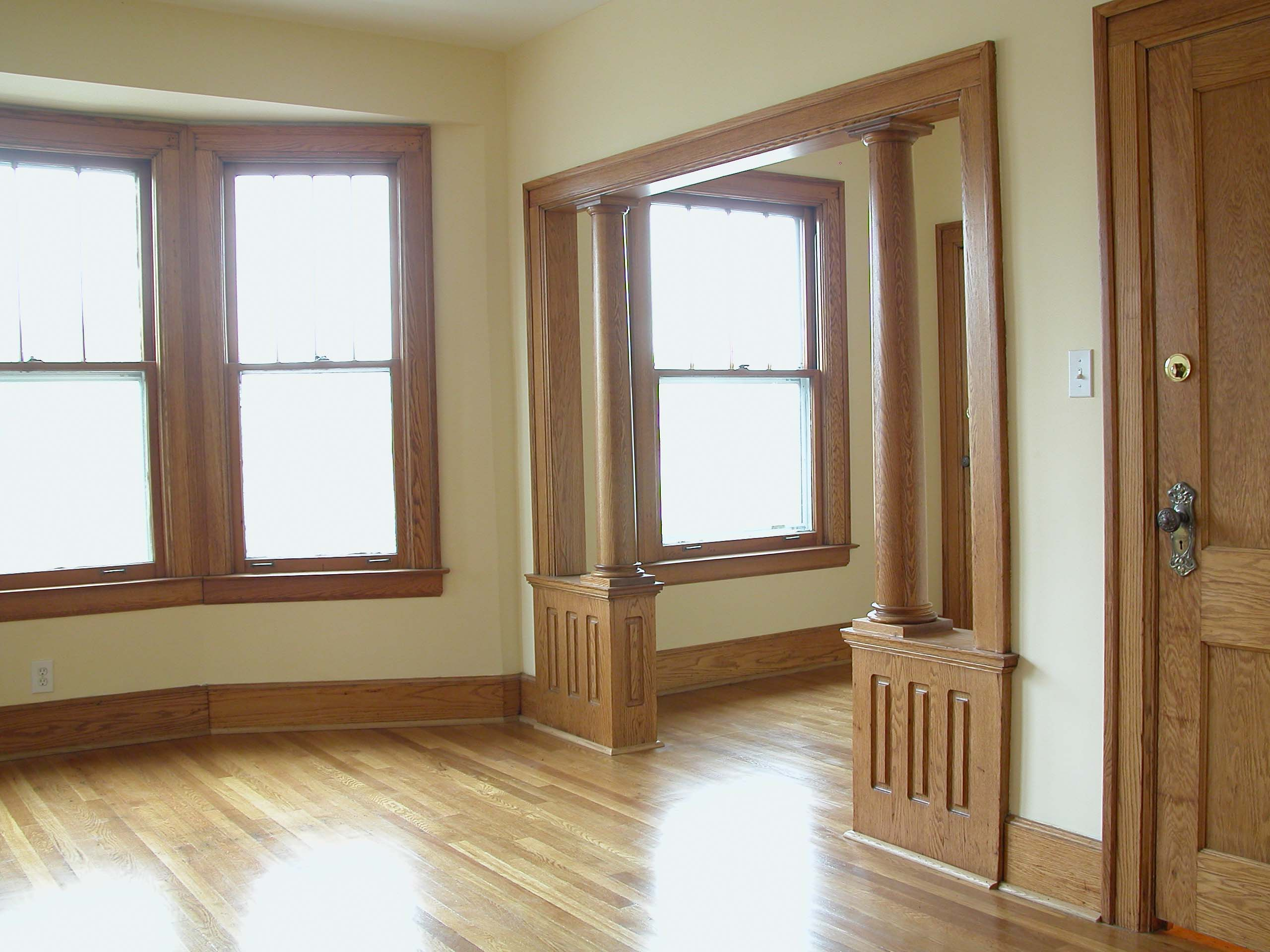 Best Paint Colors For Rooms With Dark Wood Trim